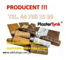Promocja - 10 % , Imitacja drewna - elastyczna deska dekoracyjna ,PlasterTynk